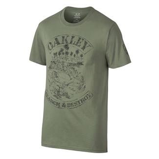 Oakley Search And Destroy T-Shirt Worn Olive