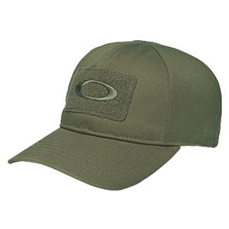 Oakley SI Cotton Hat Worn Olive