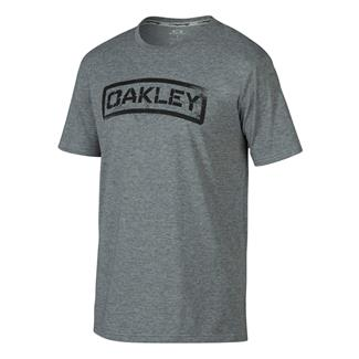 Oakley Tab T-Shirt Athletic Heather Gray