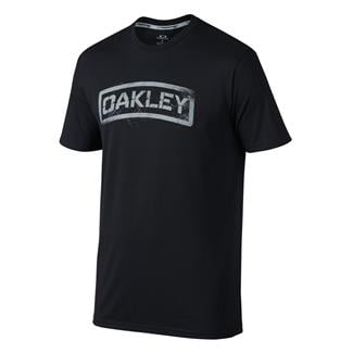 Oakley Tab T-Shirt Jet Black