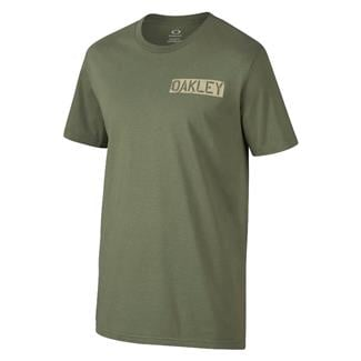 Oakley Death Card SI T-Shirt Worn Olive