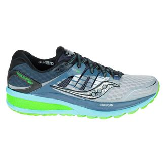 Saucony Triumph Iso 2 Gray / Blue / Slime