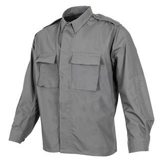 Propper Poly / Cotton Ripstop LS 2-Pocket BDU Shirts Gray