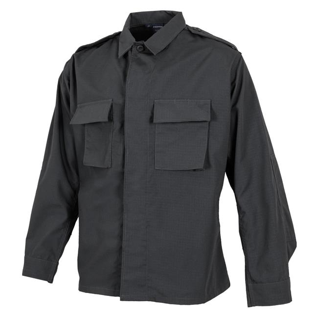 Propper Poly / Cotton Ripstop LS 2-Pocket BDU Shirts Dark Grey