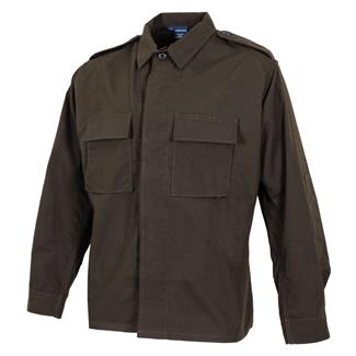 Propper Poly / Cotton Ripstop LS 2-Pocket BDU Shirts Sheriff's Brown