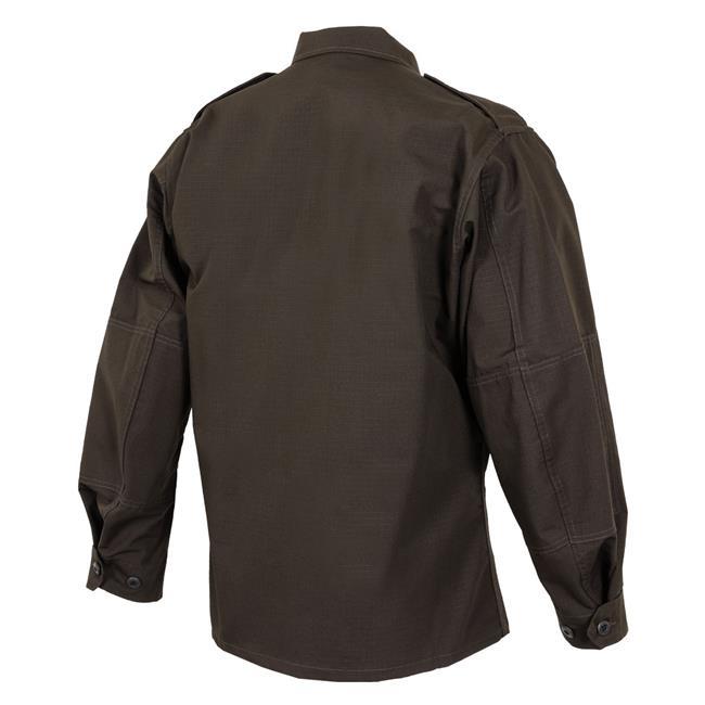 Propper Poly / Cotton Ripstop LS 2-Pocket BDU Shirts Sheriff's Brown
