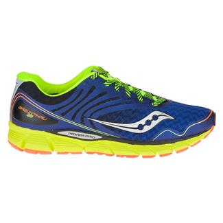 Saucony Breakthru 2 Blue / Citron / Orange