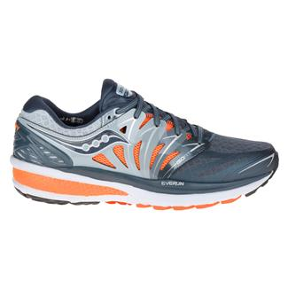 Saucony Hurricane Iso 2 Gray / Charcoal / Orange