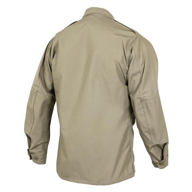 Propper Poly / Cotton Ripstop LS 2-Pocket BDU Shirts Khaki