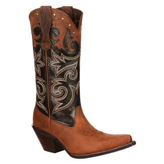 "Durango 12"" Crush Underlay Western Boot Distressed Brown"