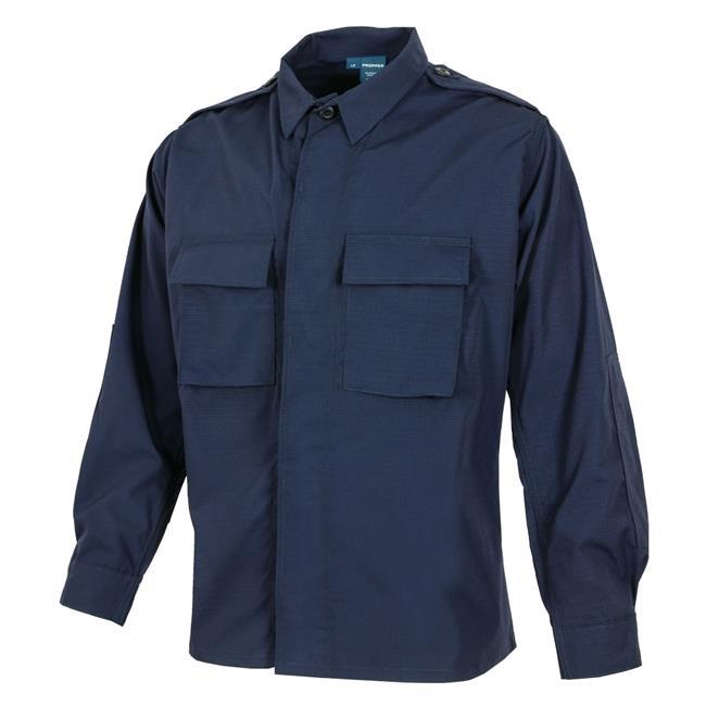Propper Poly / Cotton Ripstop LS 2-Pocket BDU Shirts LAPD Navy