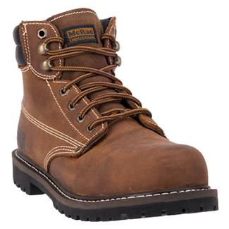 "McRae Industrial 6"" Lace-Up King ST Brown"