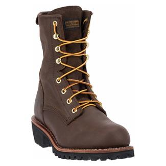 "McRae Industrial 8"" Logger Dark Brown"