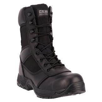 "McRae Industrial 8"" Lace-Up CT Black"