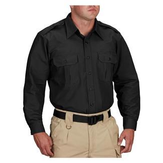 Propper Long Sleeve Tactical Dress Shirts Black