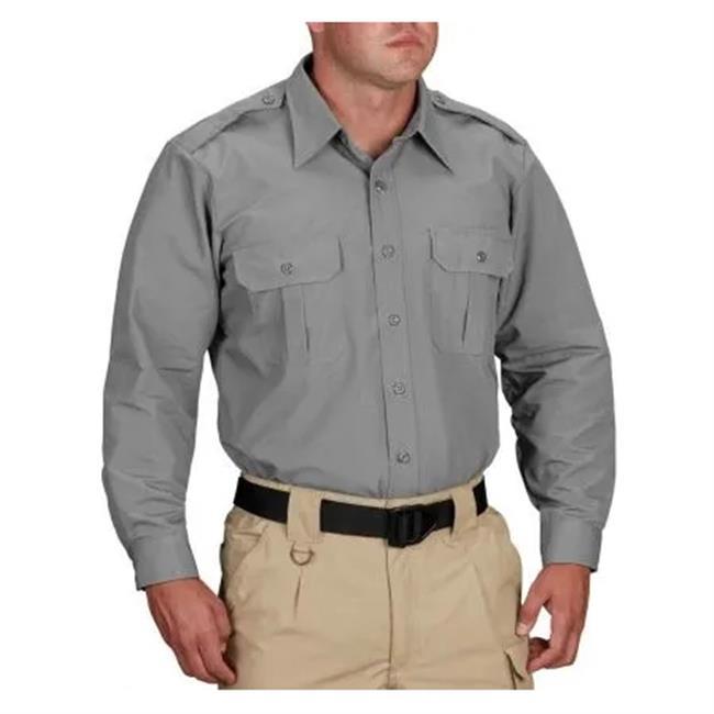 Propper Long Sleeve Tactical Dress Shirts Grey