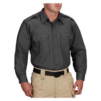 Propper Long Sleeve Tactical Dress Shirts Dark Grey