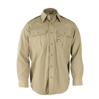 Propper Long Sleeve Tactical Dress Shirts Khaki