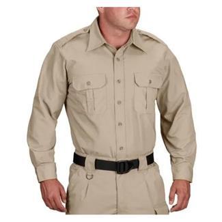 Propper Long Sleeve Tactical Dress Shirts Khaki