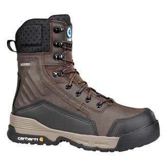 "Carhartt 8"" Force 400G CT SZ WP Brown"