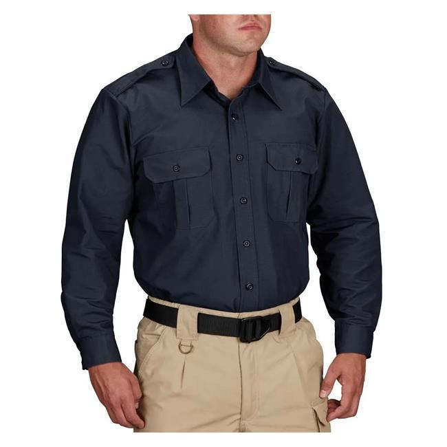 Propper Long Sleeve Tactical Dress Shirts Dark Navy