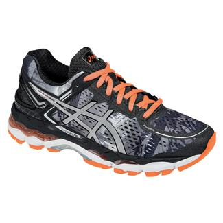ASICS GEL-Kayano 22 Black / Flash Coral / White