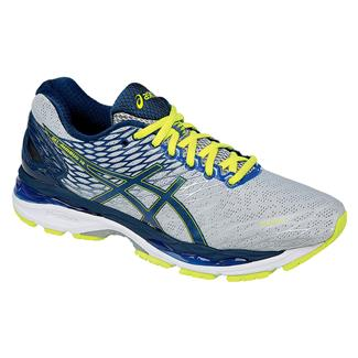 ASICS GEL-Nimbus 18 Silver / Ink / Flash Yellow