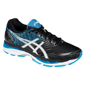 ASICS GEL-Nimbus 18 Black / White / Island Blue