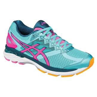 ASICS GT-2000 4 Turquoise / Hot Pink / Navy