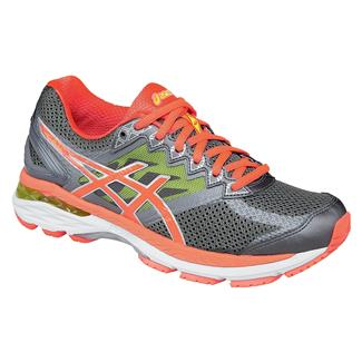 ASICS GT-2000 4 Charcoal / Flash Coral / Flash Yellow