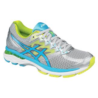 ASICS GT-2000 4 Silver / Turquoise / Lime Punch