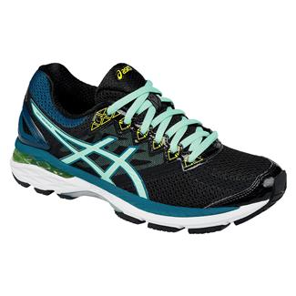 ASICS GT-2000 4 Black / Pool Blue / Flash Yellow