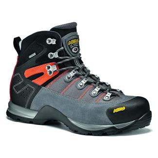 Asolo Fugitive GTX Gray / Black / Mandarin