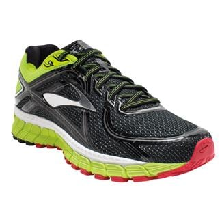 Brooks Adrenaline GTS 16 Black / Nightlife / High Risk Red