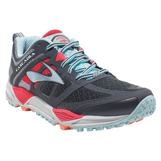 Brooks Cascadia 11 Anthracite / Hibiscus / Crystal Blue