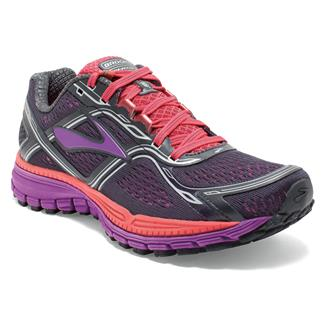 Brooks Ghost 8 Anthracite / Purple Cactus Flower / Dubarry