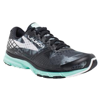 Brooks Launch 3 Black / White / Ice Green