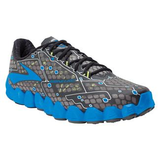 Brooks Neuro Metallic Charcoal / Electric Blue Lemonade / Nightlife