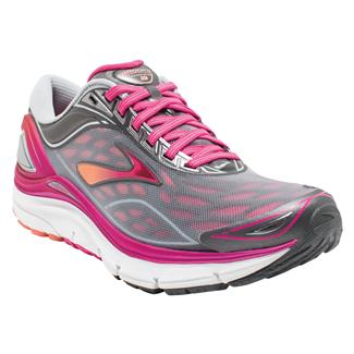 Brooks Transcend 3 Silver / Beet Root Purple / Fresh Salmon