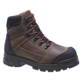 "Wolverine 6"" Renton LX 200G CT WP Brown"