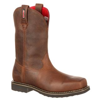 "Rocky 11"" WorkMax Pull-On WP Brown"