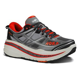 Hoka One One Stinson 3 ATR Gray / Orange Flash
