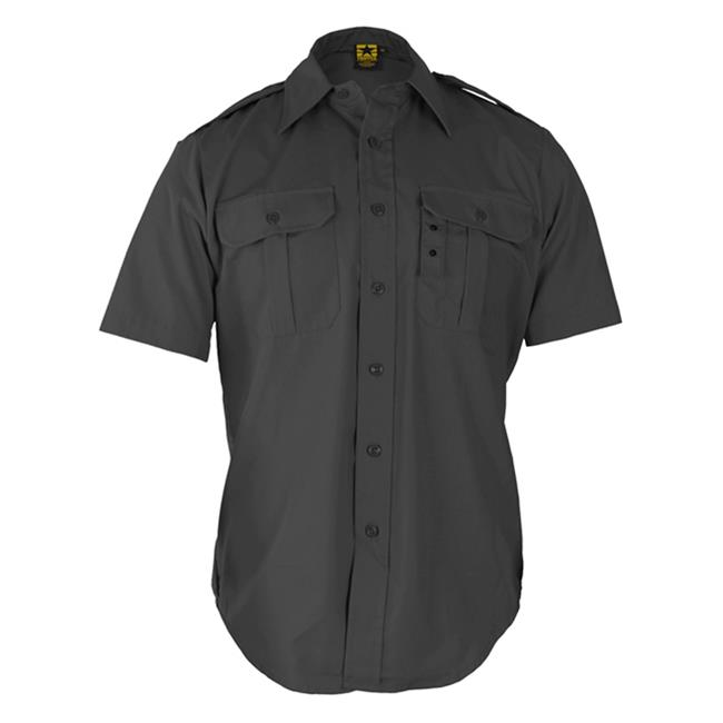 Propper Short Sleeve Tactical Dress Shirts Dark Grey