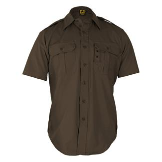 Propper Short Sleeve Tactical Dress Shirts Sheriff's Brown