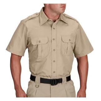 Propper Short Sleeve Tactical Dress Shirts Khaki