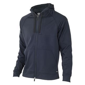 Dickies Full Zip Fleece Tactical Hoodie Midnight Blue