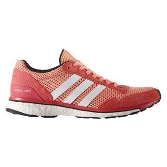 Adidas Adizero Adios Boost 3 Sun Glow / White / Shock Red