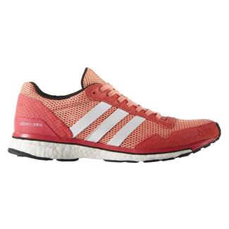 Adidas Adizero Adios Boost 3 Sun Glow / White / Shock Red