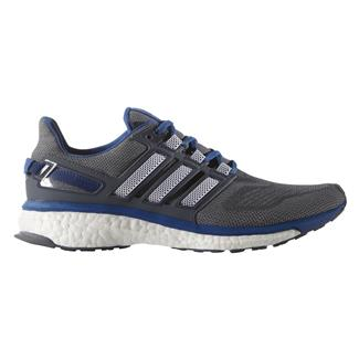 Adidas Energy Boost 3 Mid Gray / Black / EQT Blue