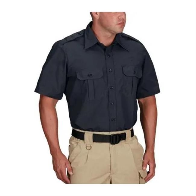 Propper Short Sleeve Tactical Dress Shirts Dark Navy
